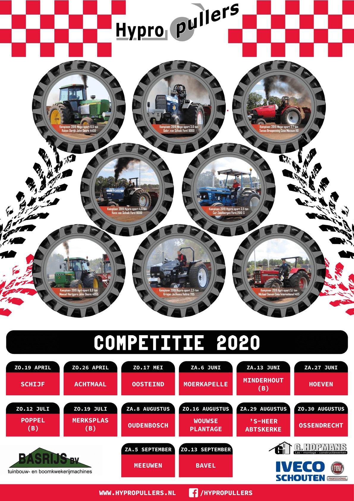 Kalender poster 2020